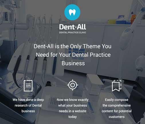 Dentall WordPress Theme