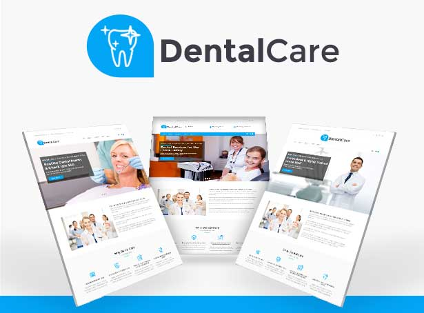 Dental Care WordPress Theme